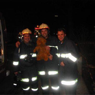 Brand-Einsatzübung im Zwirnerhaus
