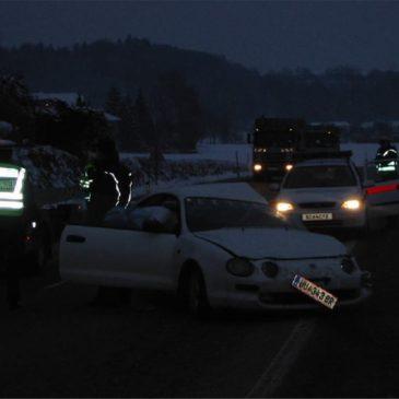 Verkehrsunfall B131 – km 5,8