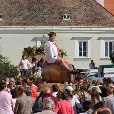 Ausflug zum Weinfest in Retz