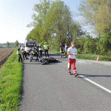 Motorradunfall in Mühldorf