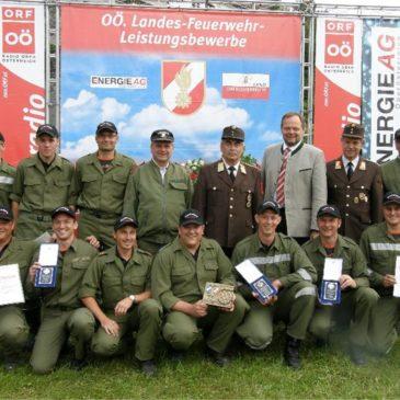 Zwei Landessieger beim OÖ-Landeswasserwehrleistungsbewerb 2008