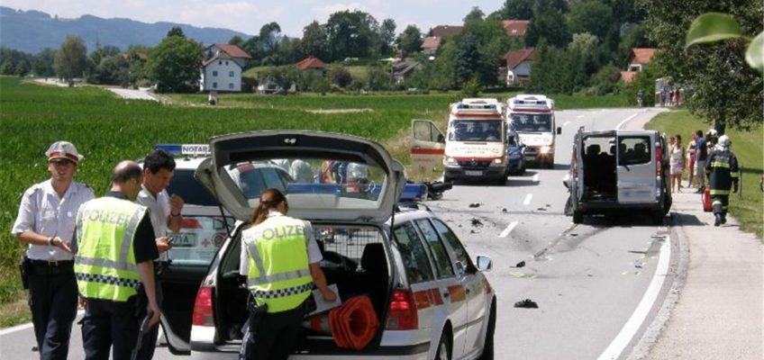 Tragischer Motorradunfall auf der B131