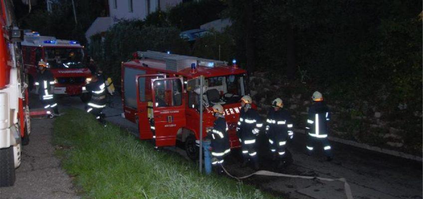 Kellerbrand in Rosenleiten