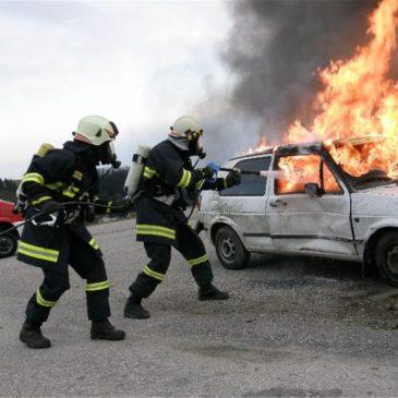 Verkehrsunfall mit Schulbus – Gemeindeübung 2009