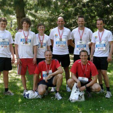 """""""Feuerwehr läuft"""" auch beim 8. Linz-Donau Marathon"""