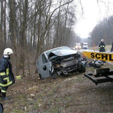 Dritter Verkehrsunfall in einem Monat