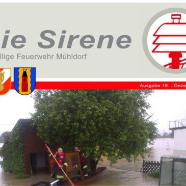 Die Sirene 2013 im neuen Design