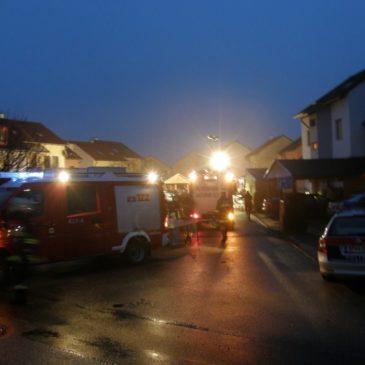Küchenbrand in der Lauterbachsiedlung
