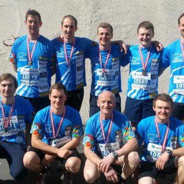 FF-Mühldorf läuft Viertel-Marathon für Feldkirchen