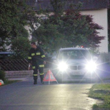 Gas-Alarm in der Pesenbachstraße
