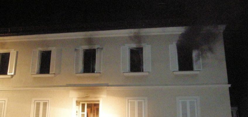Wohnhausbrand am Marktplatz Feldkirchen