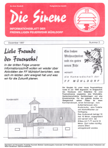 Die Sirene - Ausgabe3 (1997)
