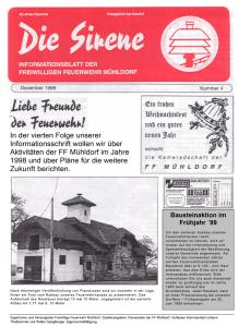 Die Sirene - Ausgabe4 (1998)