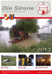 Die Sirene - Ausgabe19 (2013)