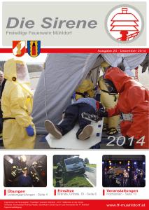 Die Sirene - Ausgabe20 (2014)