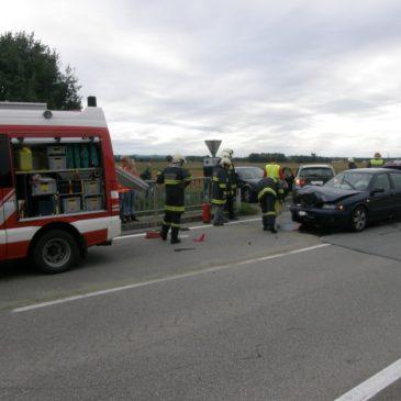 Erneut Verkehrsunfall im Kreuzungsbereich von Freudenstein