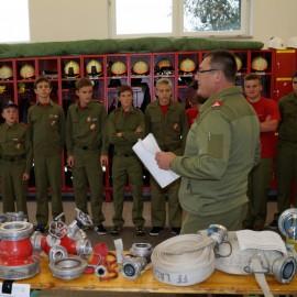 Feuerwehrjugend Wissenstest Erprobung
