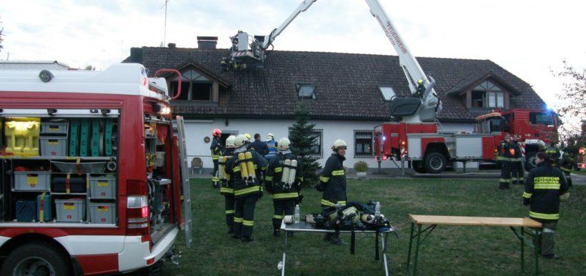 Küchenbrand in Feldkirchen