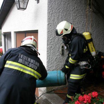 Großes Glück bei einer Gasexplosion am Schauerbachweg