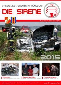 Die Sirene - Ausgabe21 (2015)