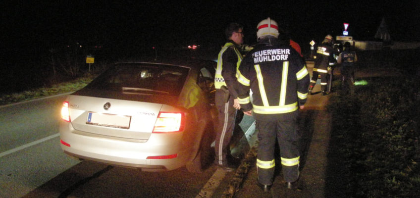 Verkehrsunfall auf der B131