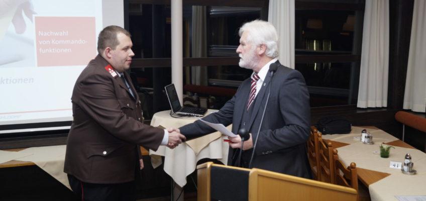 Jahresvollversammlung – zwei Kommandofunktionen neu gewählt