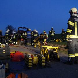 Organisationsübergreifende Einsatzübung in Oberhart