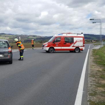 Ölspur beschäftigte 6 Feuerwehren