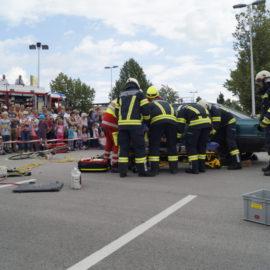 FF-Mühldorf beim Sicherheitstag in Walding
