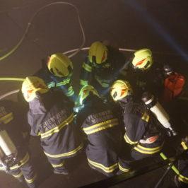 Brandeinsatzübung – Landwirtschaftliches Objekt