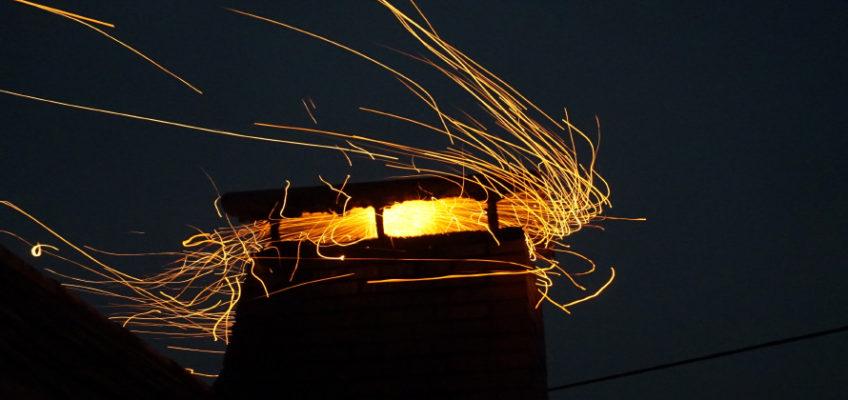 Kaminbrand in Rosenleiten