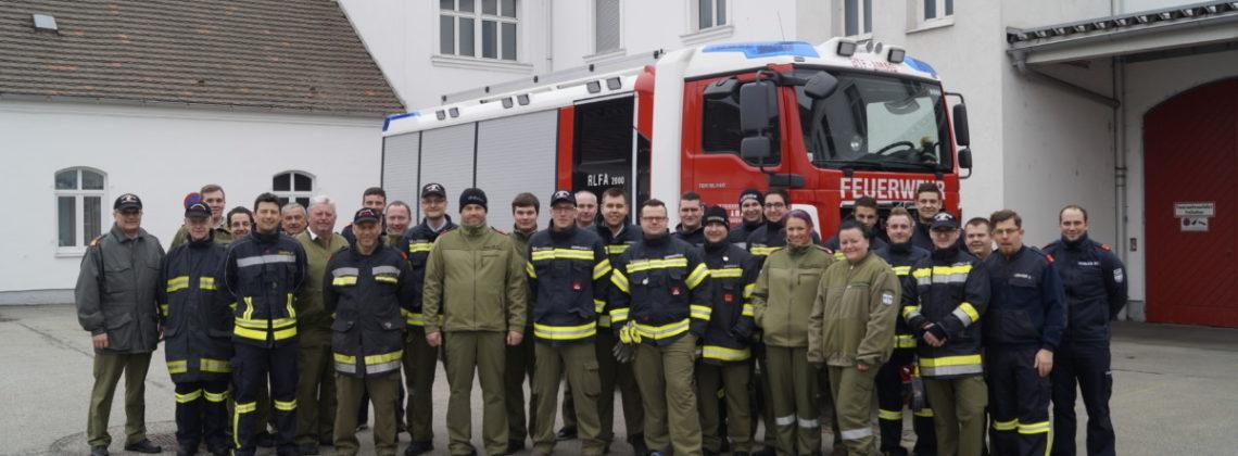 Bezirks-Strahlenschutzübung bei der Firma AMAG