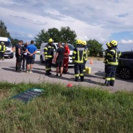 Verkehrsunfall im Kreuzungsbereich von Freudenstein