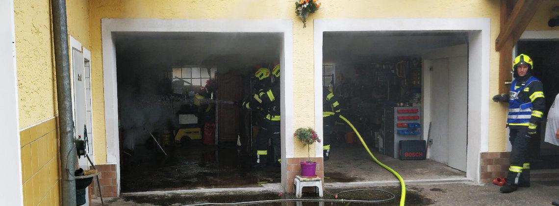 Brand eines Speckofens im Ortsteil Dürrau