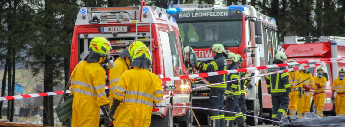 Bezirks-Strahleneinsatzübung in Bad-Leonfelden