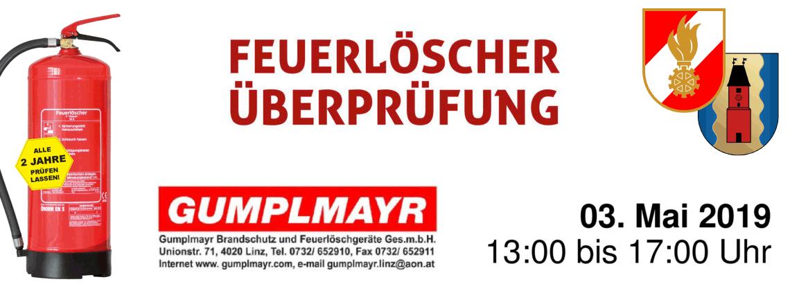 Feuerlöscher Überprüfung im Feuerwehrhaus der FF-Mühldorf
