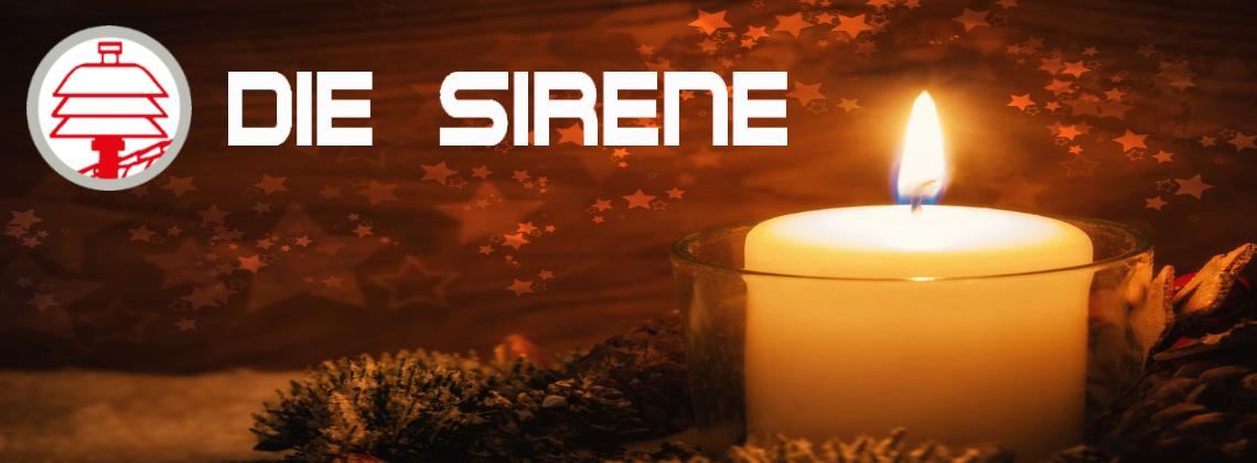 """25 Jahre Friedenslicht & Feuerwehrzeitung """"Die Sirene"""""""