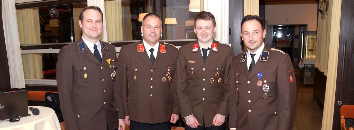 Jahresvollversammlung mit Neuwahl 1. Stv. des Kommandanten