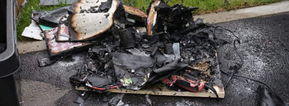 Zimmerbrand in der Ortschaft Pesenbach