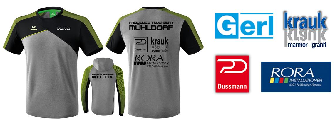 Neue Trainingsbekleidung und ein Dank an unsere Sponsoren!